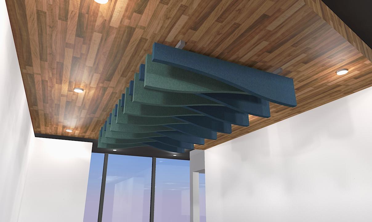 Acoustic Ceiling Raft
