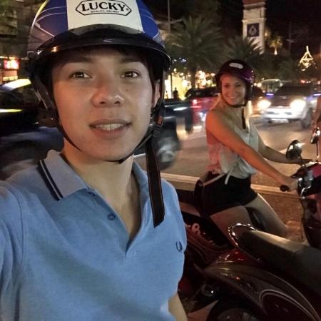 Abdurassul Magiun [25] studiert Business Administration an der Bergischen Universität Wuppertal. Für ein Auslandssemester zog es ihn an die James Cook University in Singapur.