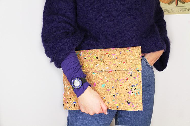 Step-by-Step zu deiner neuen Laptophülle - Foto: goldschooldiy.blog