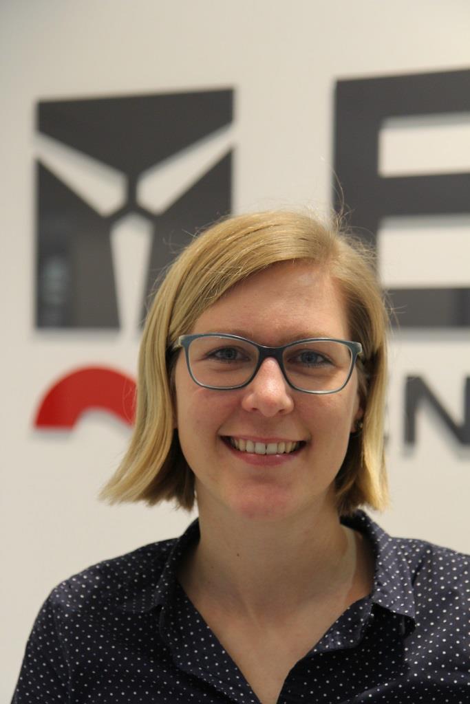 Britta Krawczyk  hat sich als Ingenieurin bei Enercon beruflich der Windenergie verschrieben.