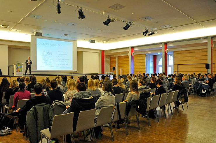 Vortragsraum in Hannover. Foto: MASTER AND MORE