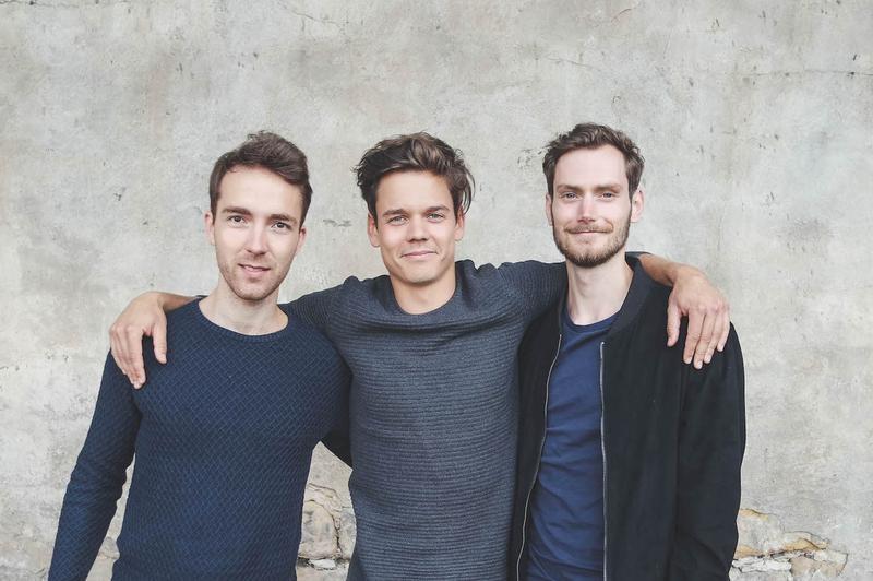 The nu company-Gründer Mathias Tholey, Christian Fenner und Thomas Stoffels (v. l.)