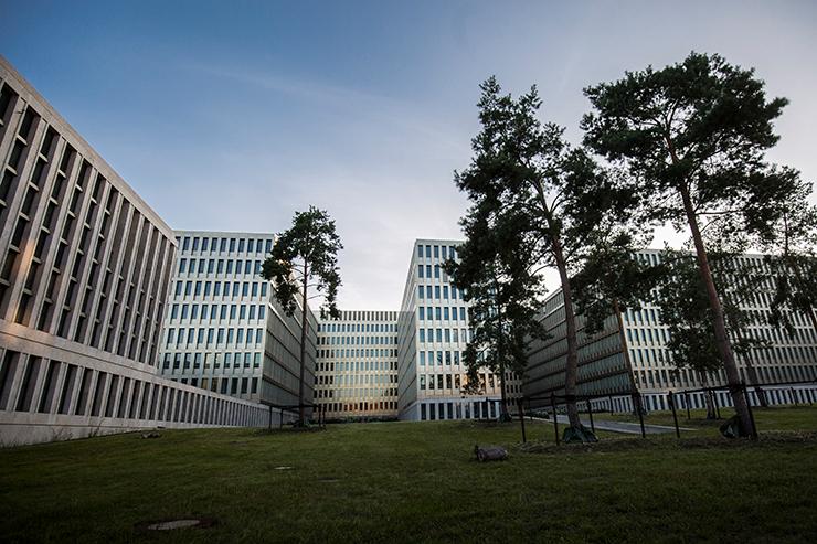 Die neue Zentrale des Bundesnachrichtendienstes (BND) in Berlin.