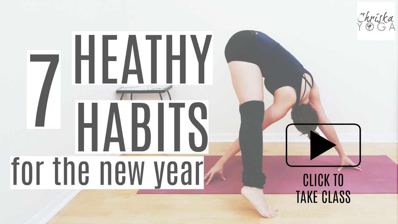 7 Healthy Habits for The New Year and How to Achieve Them