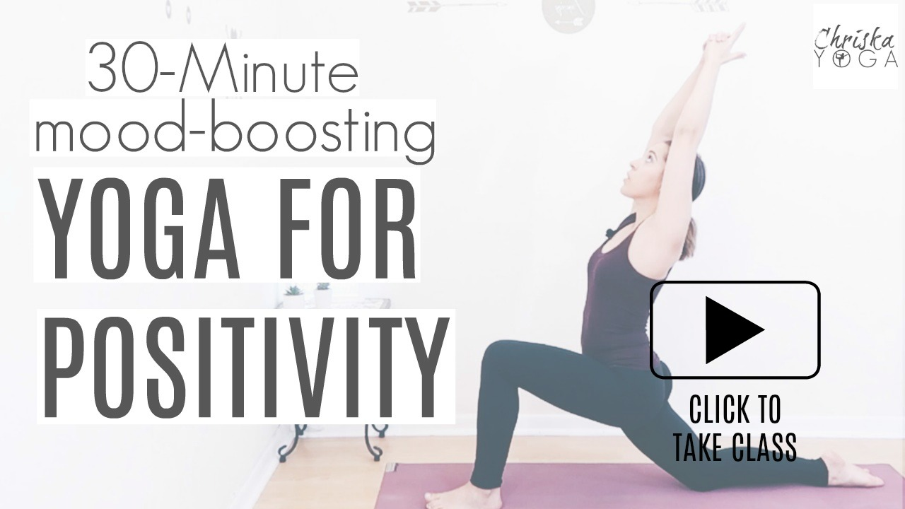 30 Minute Yoga for Positivity Energy and Posture