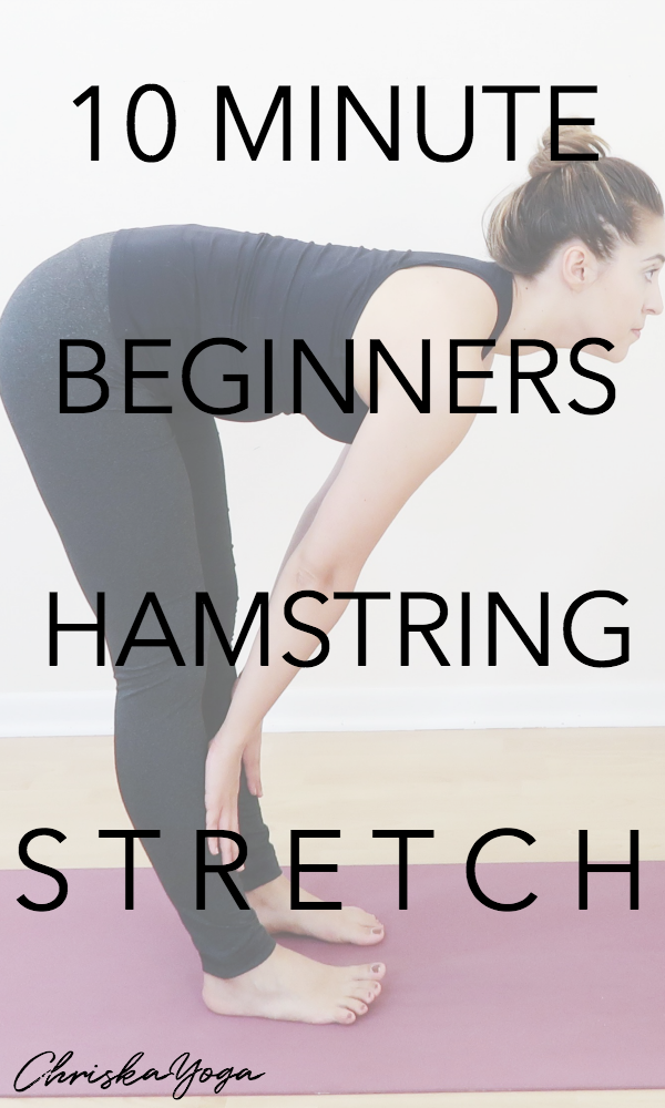 10 minute hamstring stretch for beginners for hamstring flexibility