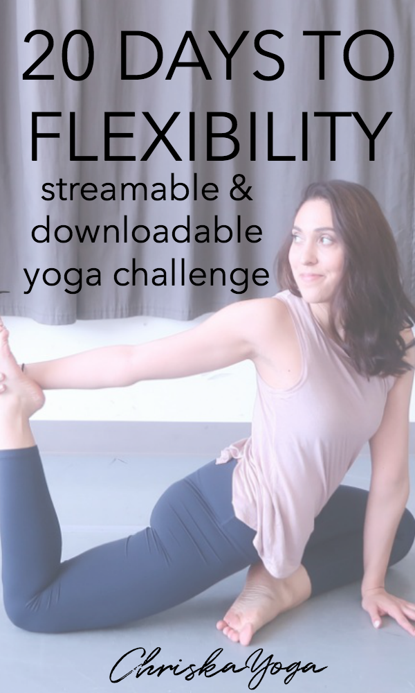 20 Days to Flexibility Yoga Challlenge