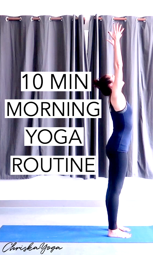10 Min Morning Yoga routine - yoga to wake you up