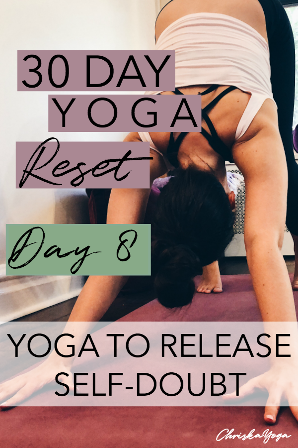 15 minute yoga class for energy and power - at home yoga - yoga to wake you up - yoga for releasing self doubt