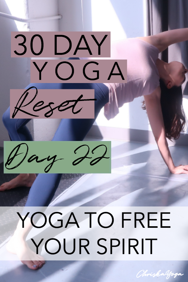 15 minute at home vinyasa yoga flow for a free spirit - yoga to free your spirit - creative yoga flow
