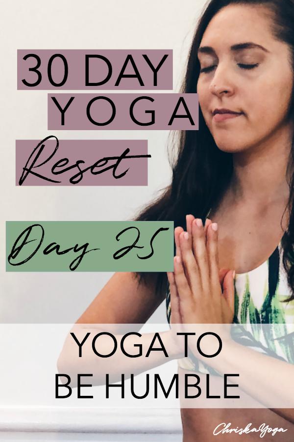 20 minute hatha yoga for humility - yoga to be humble - 20 min hatha yoga for beginners