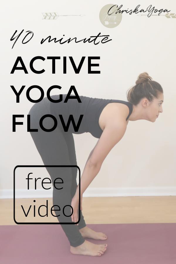 40 Min Yoga Flow - vinyasa yoga flow - yoga workout - full yoga class