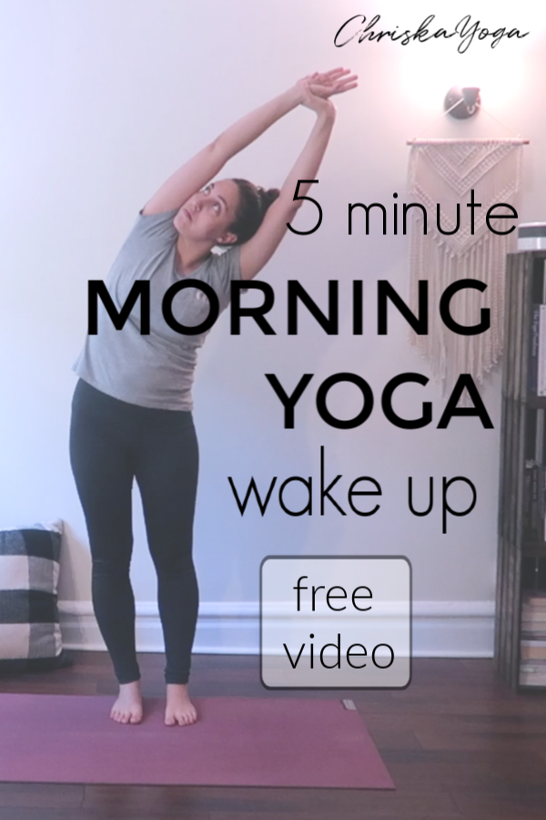 5 Min Morning Yoga - yoga to start your day