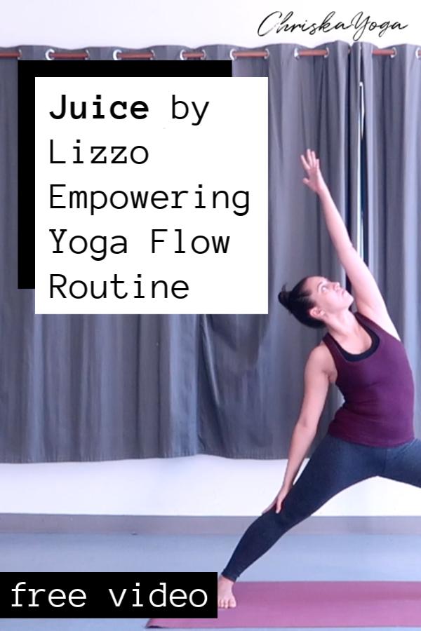 Lizzo Juice Yoga Flow Routine - Vinyasa Yoga Flow Sequence - Yoga to Pop Music