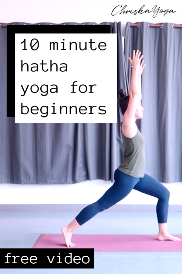 hatha yoga for beginners - 10 minute yoga for beginners - yoga at home