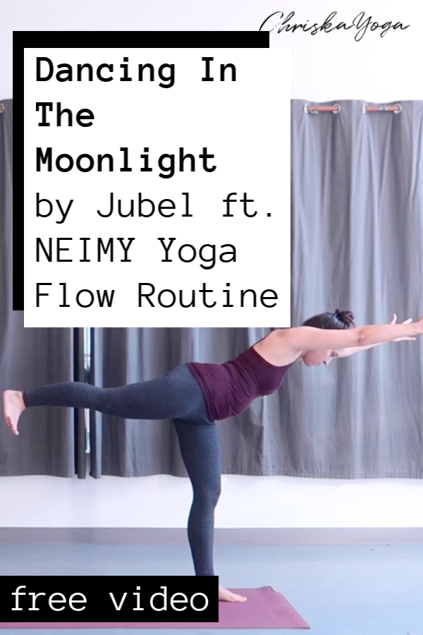 yoga flow - workout to dancing in the moonlight - jubel feat. neimy