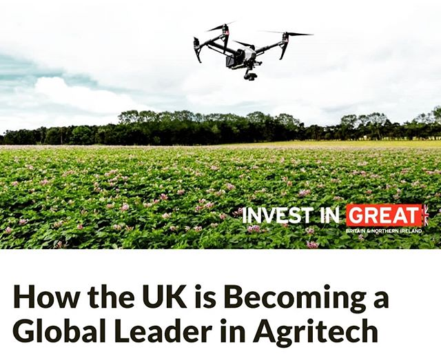 Great article by @agfunder. The great Turnip Townshend would no doubt be proud!  #drones #ai #agtech https://agfundernews.com/how-the-uk-is-becoming-a-global-leader-in-agritech.html/