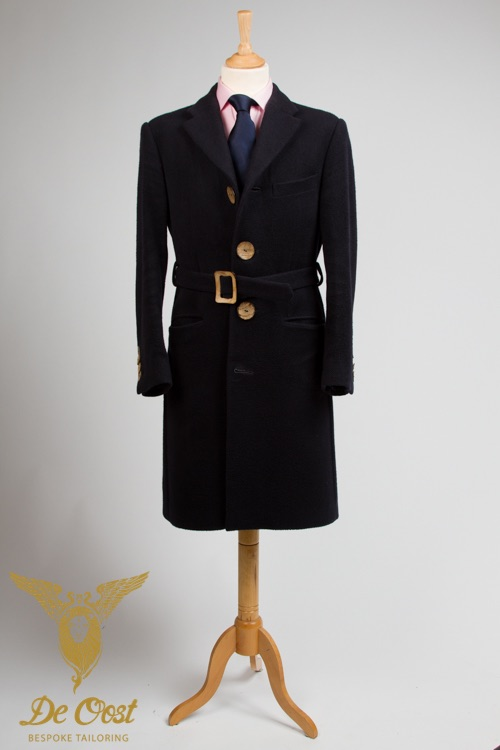 - Classic British Overcoat Tailor Made Wool