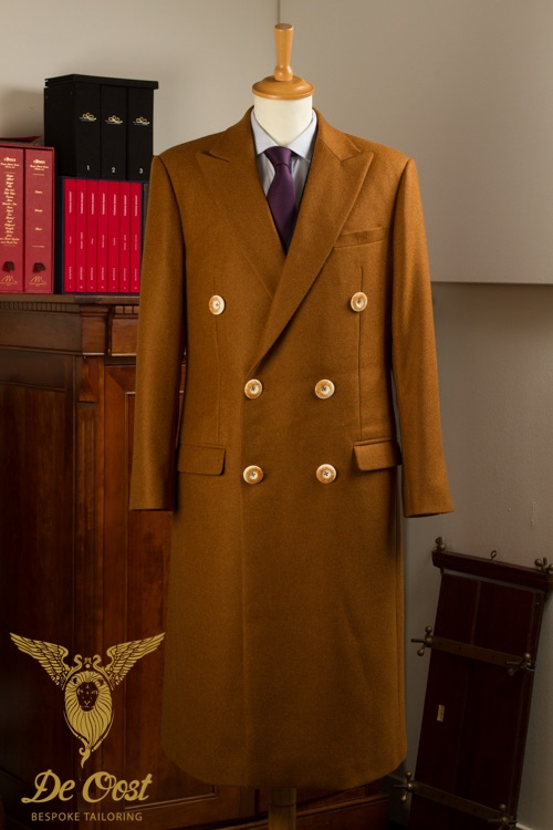 - Vicuna Coat inpsired by the famous Crombie Coats