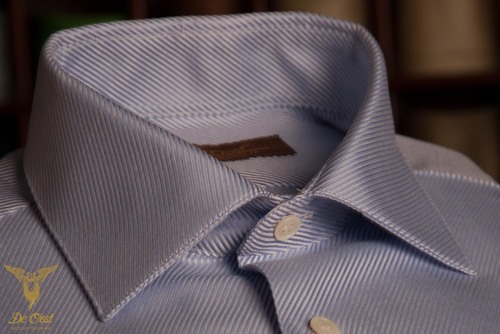 Fancy Cavalry Twill Shirt with wide spread collar.jpg