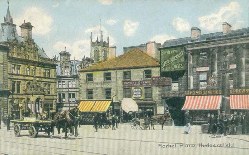 Market Place Huddersfield