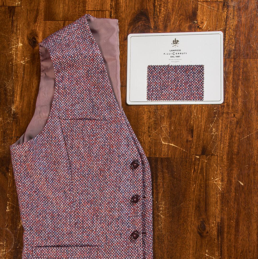 - Modern Style Wedding Cerruti Knitwear Waistcoat