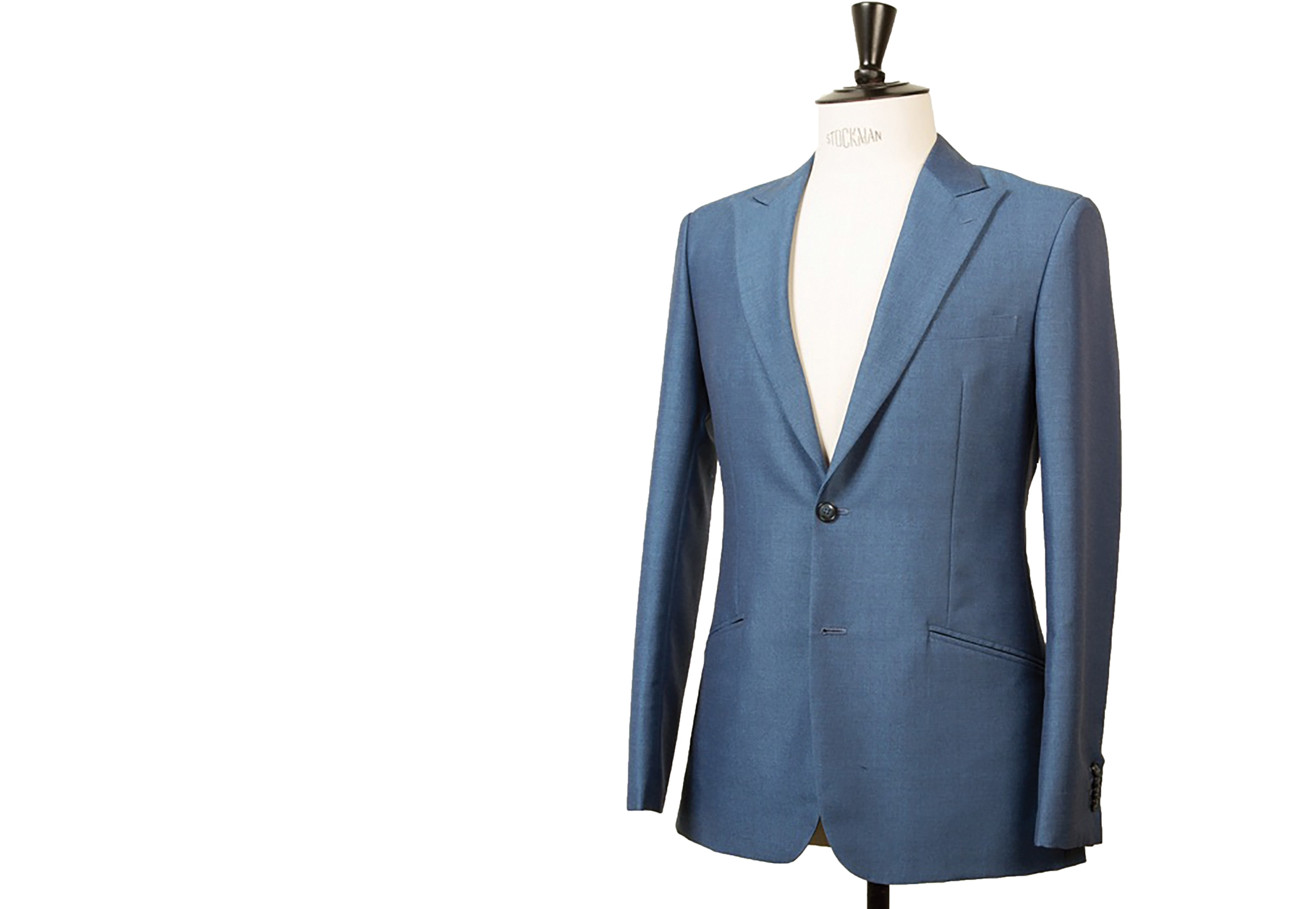 8. After the second fitting:  Further alterations are made and the garment is finished and pressed. Button holes, felling and edge stitching are completed, all by hand. The coat is then pressed before the last fitting. Clothing is then pressed a final time before delivery.