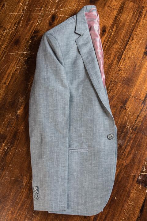 - Summer Wedding Suit 2018 Linen Wool Silk Bohemian 1 Button Italian