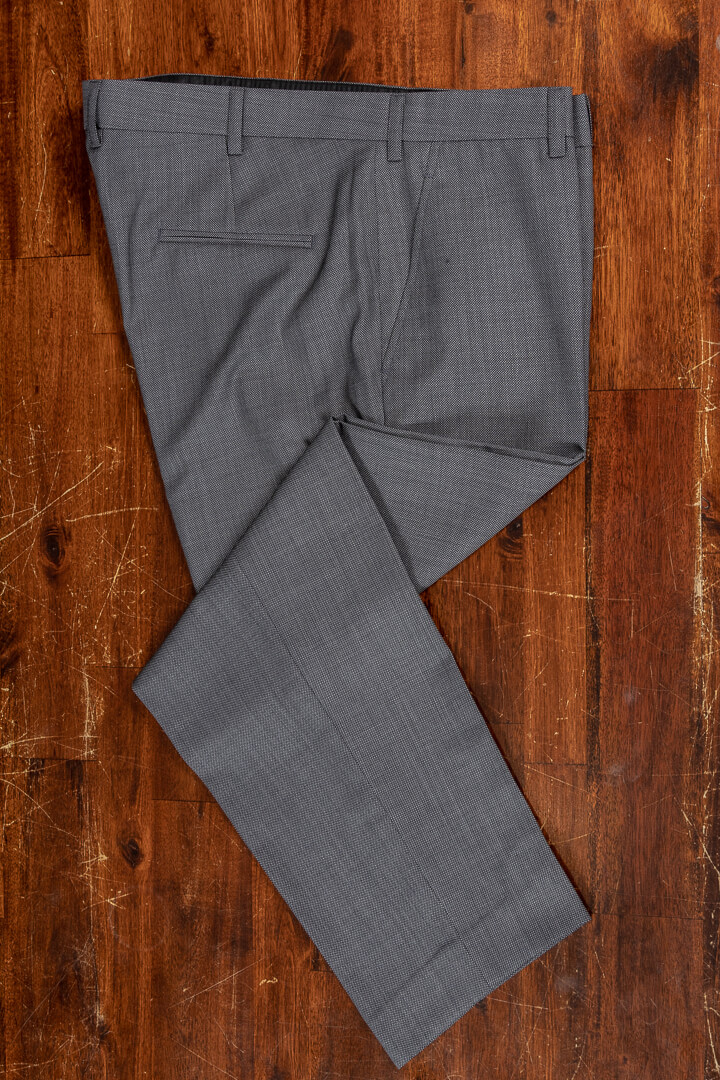 - Bespoke birdseye summer trousers 280 grm