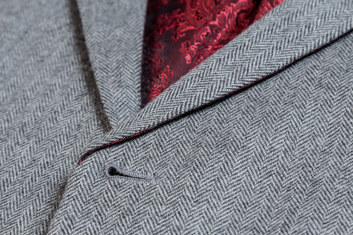 Light Grey Wool Herringbone Flanel 3 Piece Suit Men (1).jpg