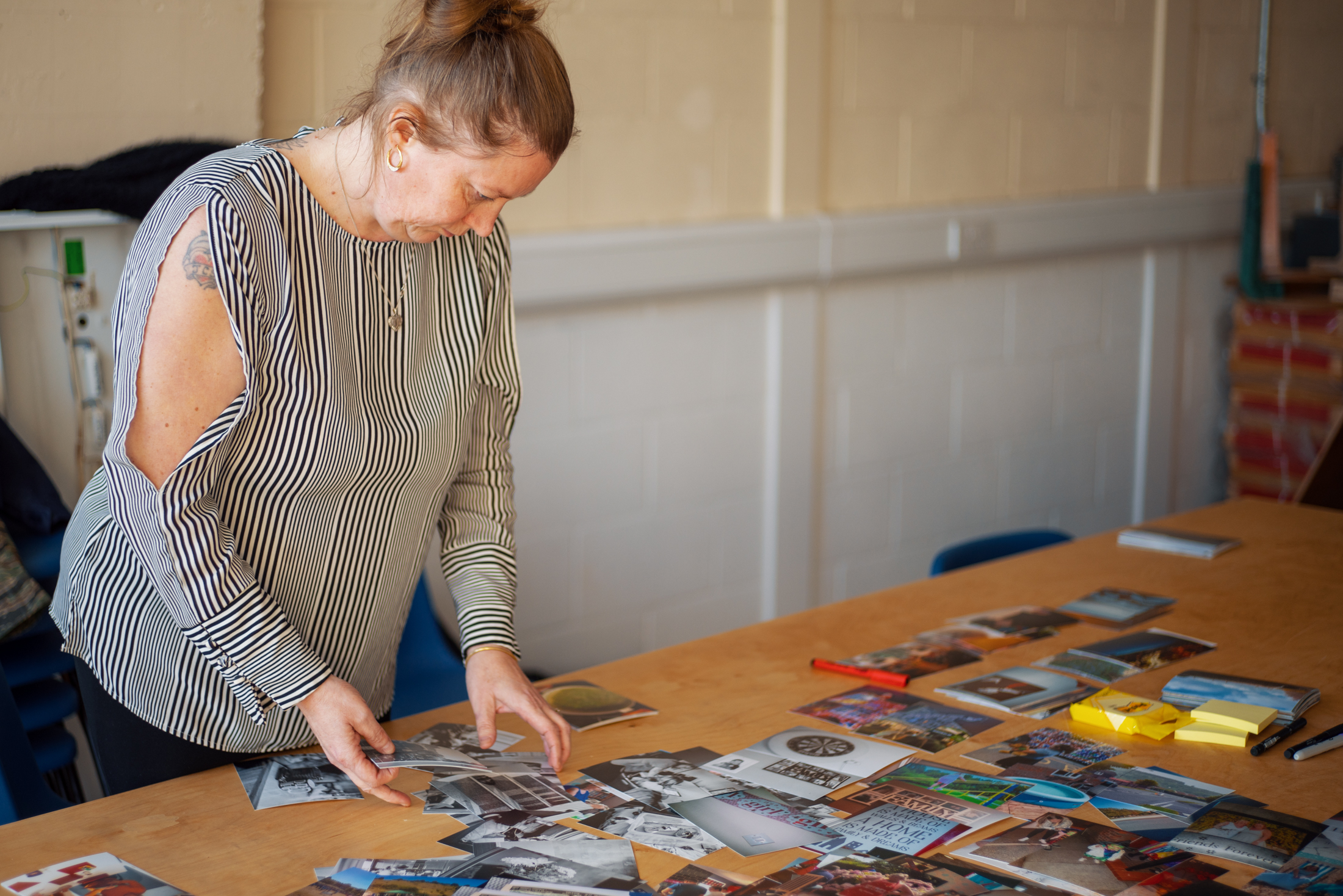 Lisa at the exhibition workshop - Photo Credit - Curtis James_lo.jpg