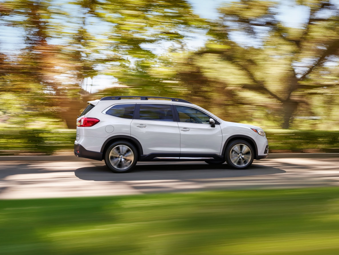 Subaru's new Ascent 7-seat crossover could easily be mistaken for a station wagon