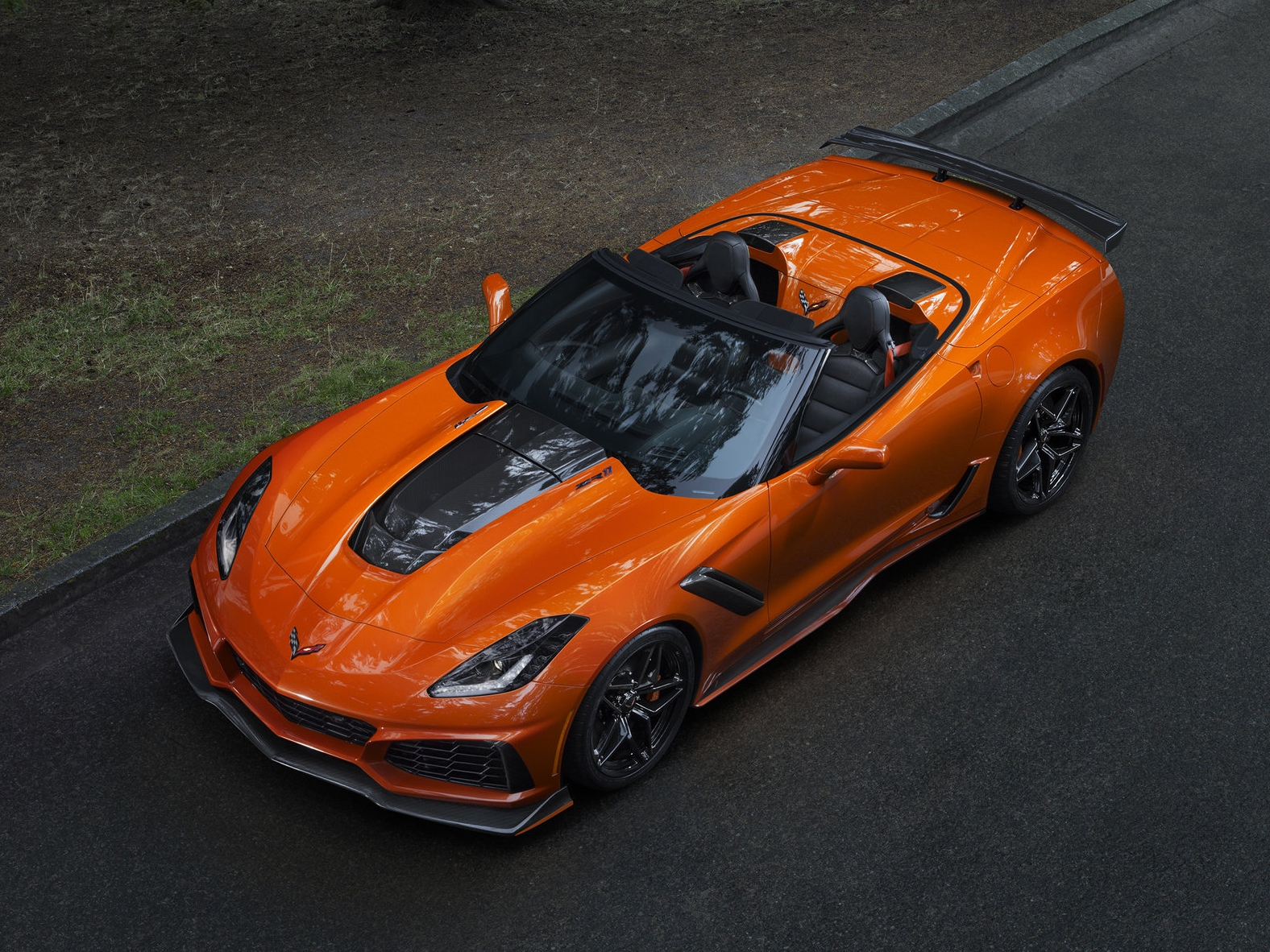 The ZR-1 convertible is so aggressive and full of tuner-esque add-ons that it's hard to take seriously on a global level.