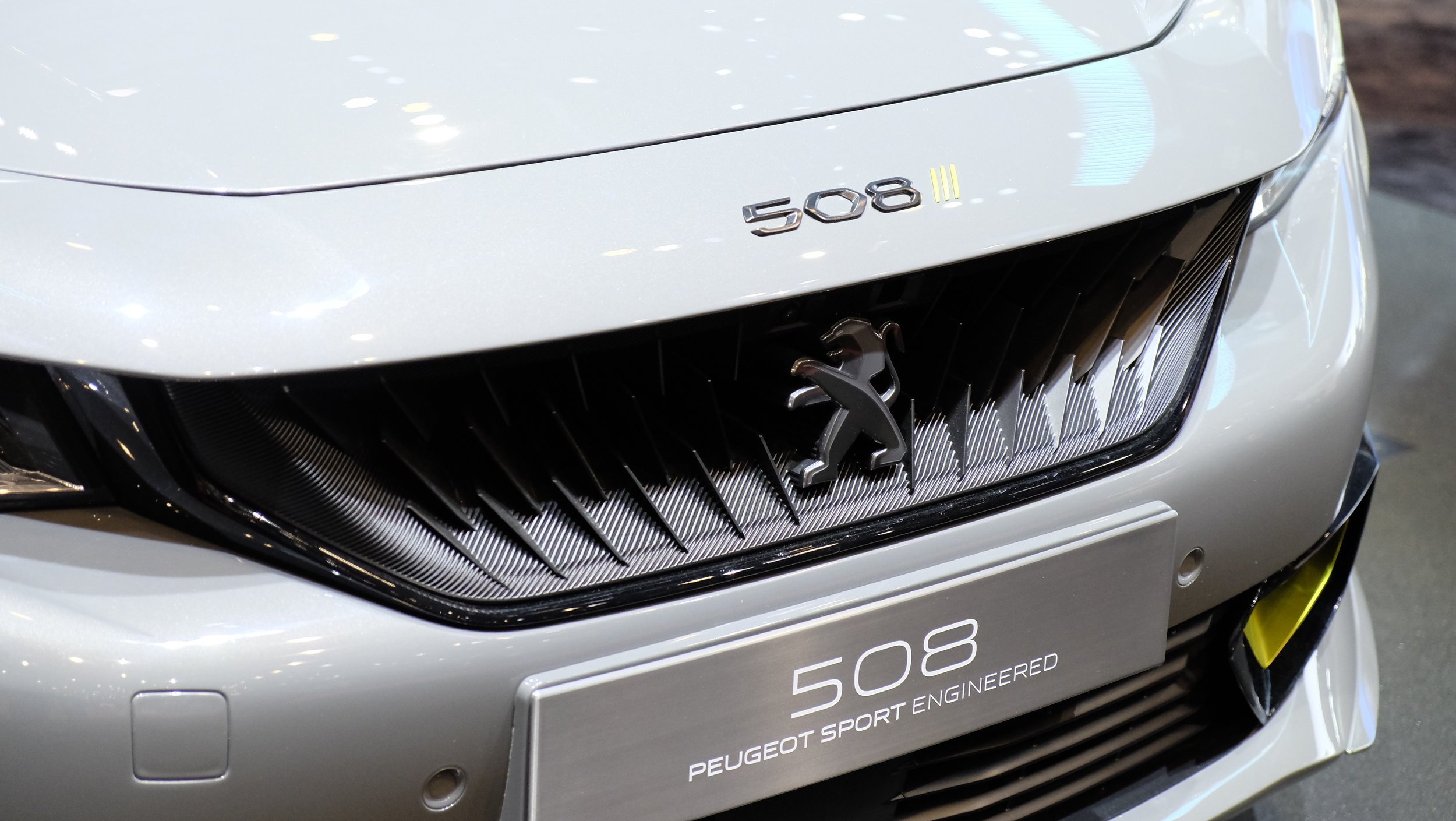 The 3D-printed grill on Peugeot Sport Engineered 508 shows that the long-promised tech is finally ready for the big time