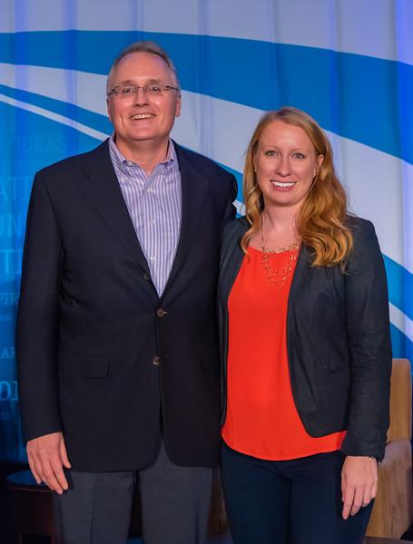 Big Tent Nation's Brian Clancy and Caroline Klibanoff
