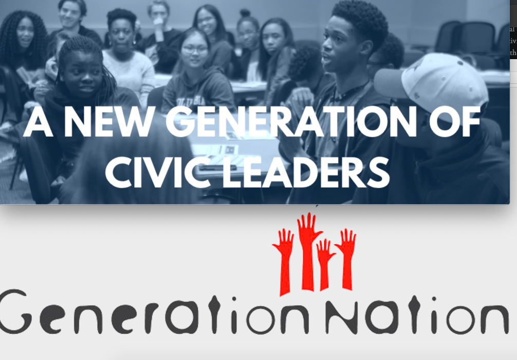 GenerationNation - GenerationNation brings together youth, local governments, and schools to develop young civic leaders and give them