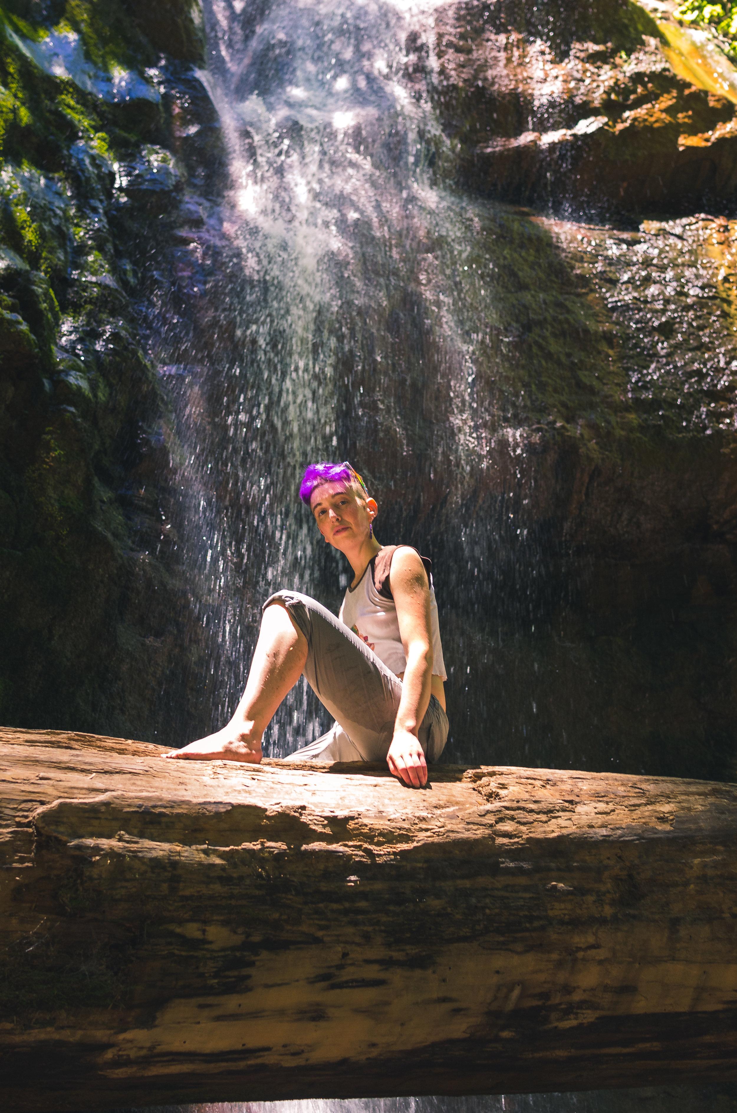 Qori Moorehaul, Artist, Big Sur, California