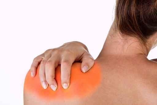 chiropractic patient with frozen shoulder pain