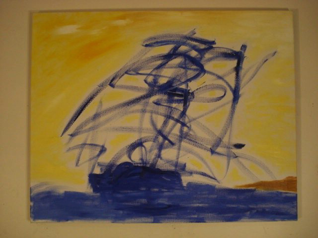 """Gardiners Afternnon - Oil on Canvas (24 x 30"""")"""