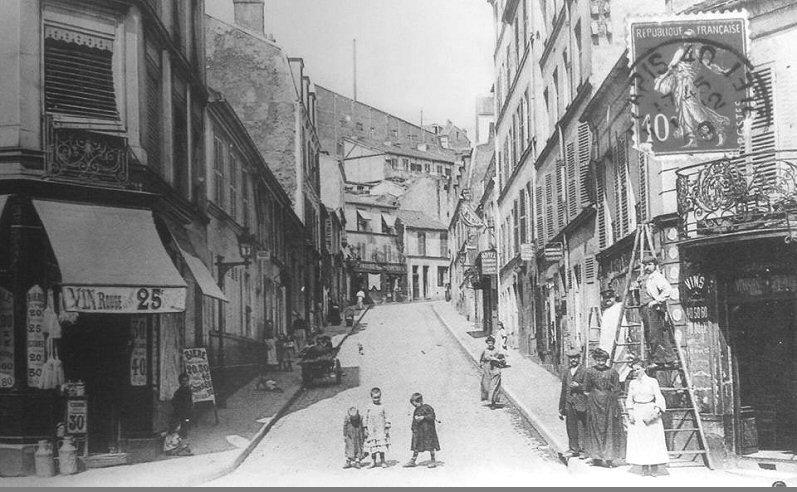 La rue de l'Aude - Note d'intention.
