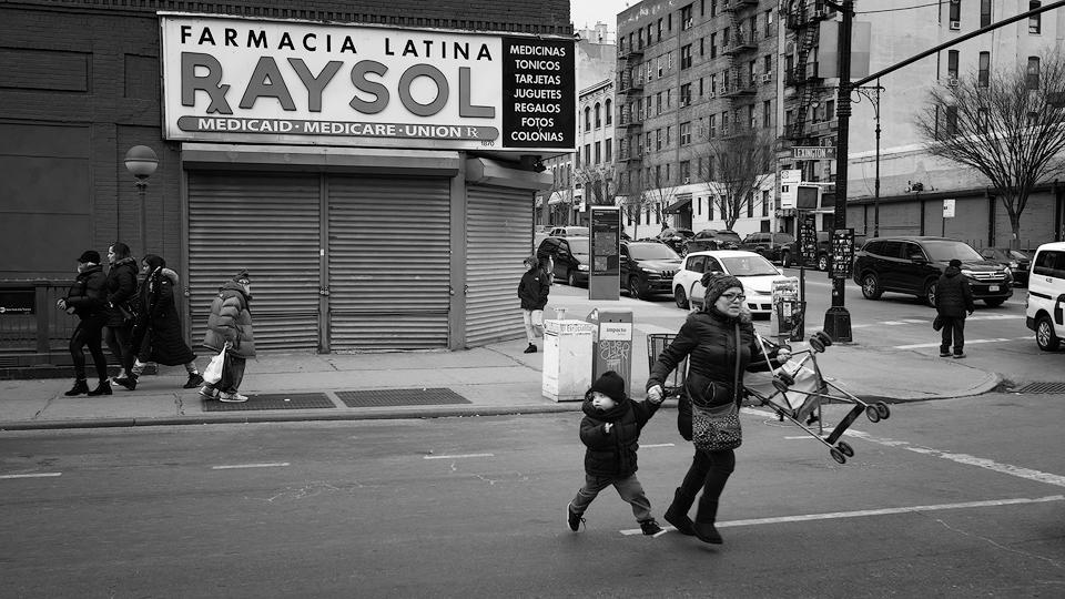 El Barrio —  East Harlem, Nueva York.