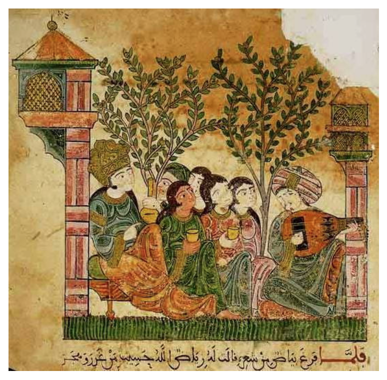 Las Kharjas - On the historical significance of the Kharjas, a genre of andalusian epic poetry, composed during the Middle Age alternating early Spanish & Arabic. Article in Spanish.