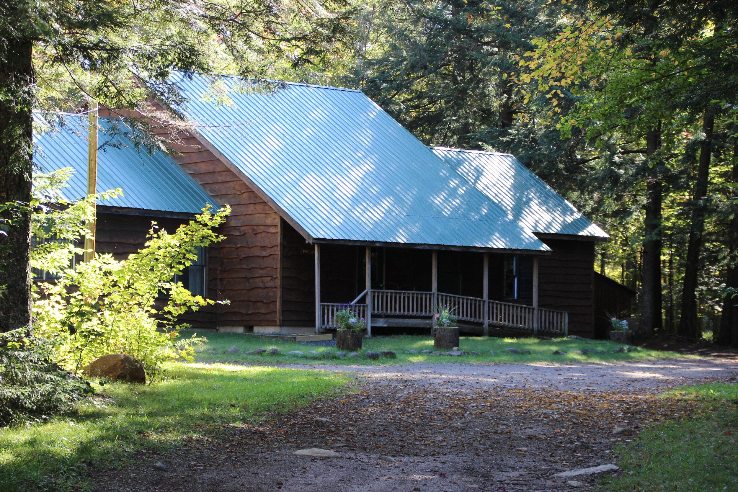 Pine Lodge - retreat house