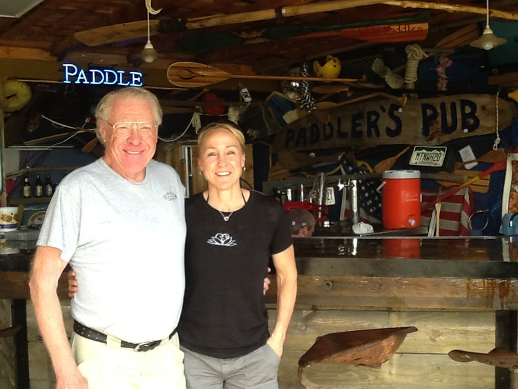 Dad (aka Byron Renz) and me in Fort Collins, CO