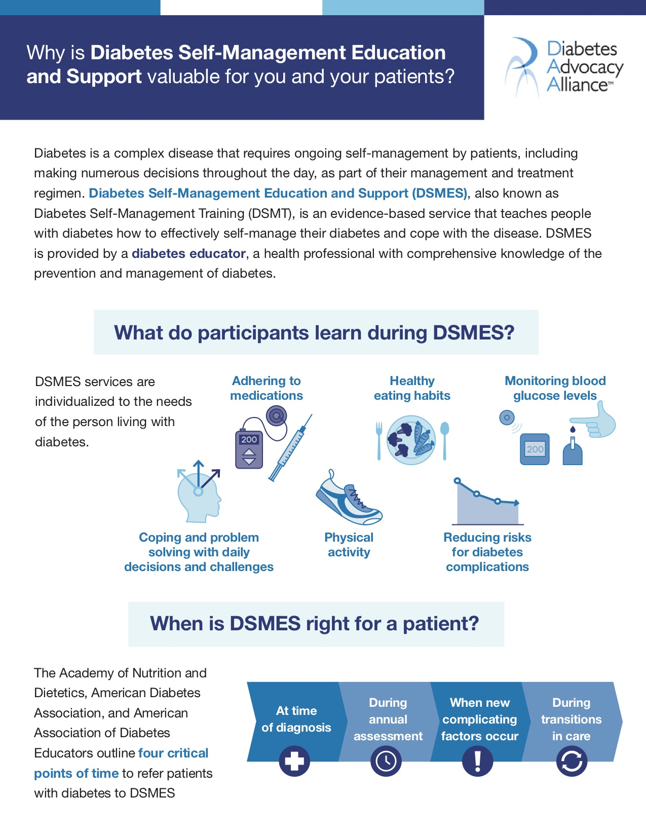 Diabetes Self-Management Education and Support Page 1