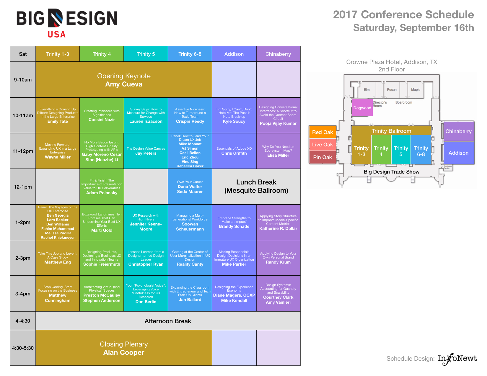 Big Design Conference 2017 Schedule