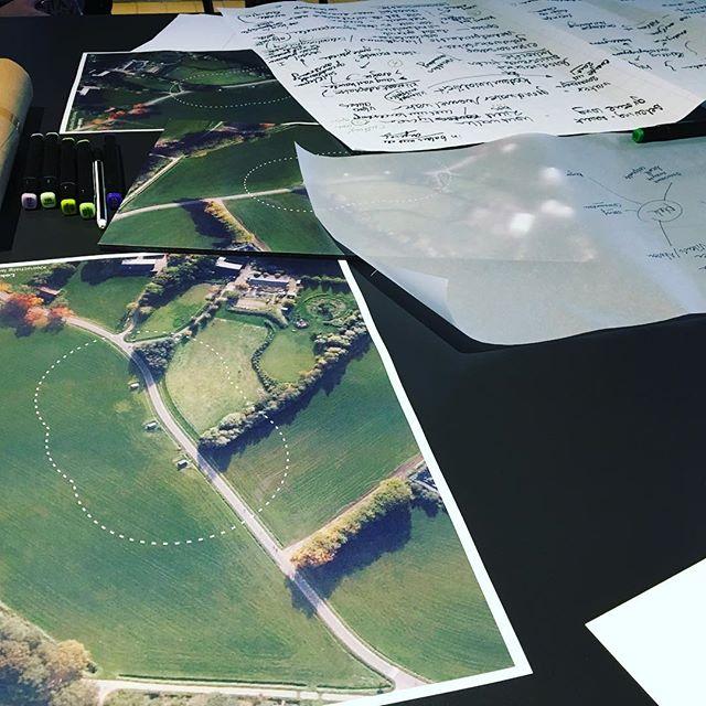 Brainstorm sessie #werksessie #bodemlandschap #cultuurhistorischlandschap #oudegasfabriekdeventer