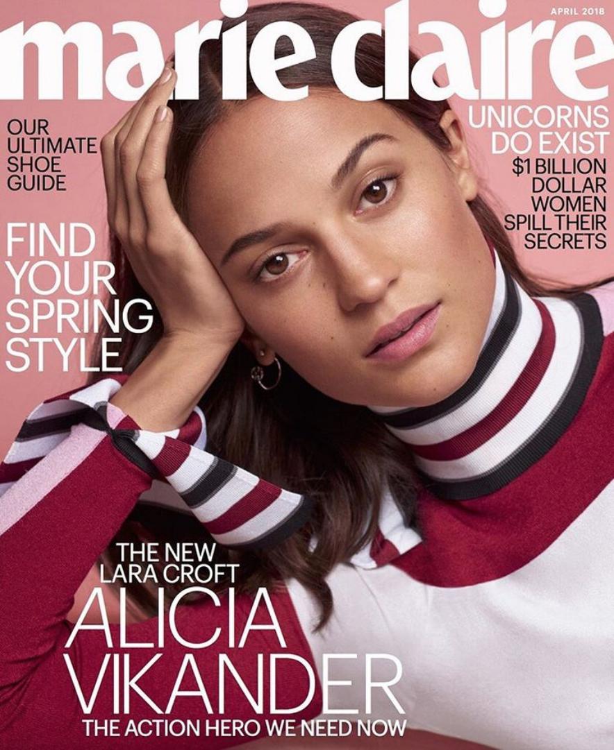 Alicia is Medium.