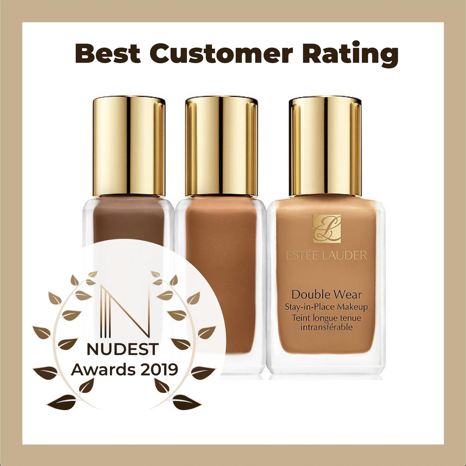 NUDEST Awards Estee Lauder foundation