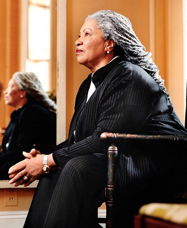 """""""Freeing yourself was one thing; claiming ownership of that freed self was another"""" -Toni Morrison (Beloved)  #ToniMorrison May she Rest In Peace"""
